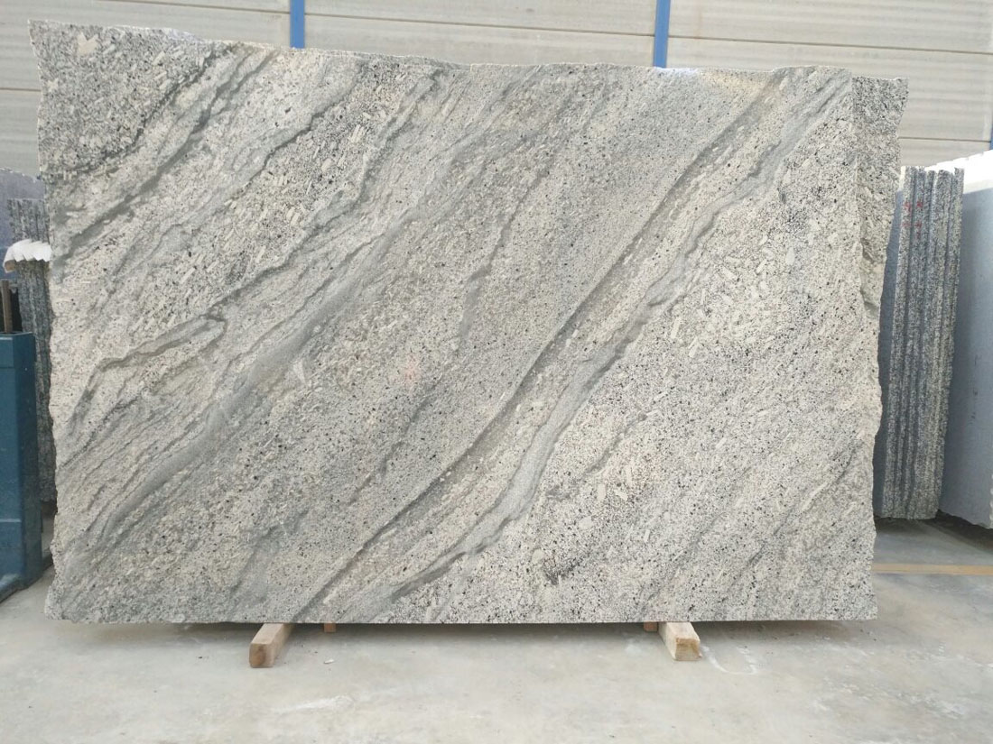 Blanco Fantasia Granite Slabs Spanish White Granite Slabs