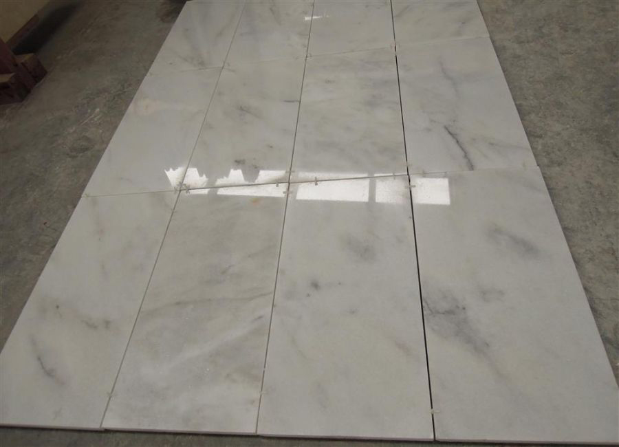 Blanco Ibiza Marble Tiles Polished Turkish White Marble Flooring Tiles
