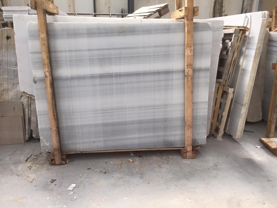 Blanco Macael Polished White Slabs from Spain
