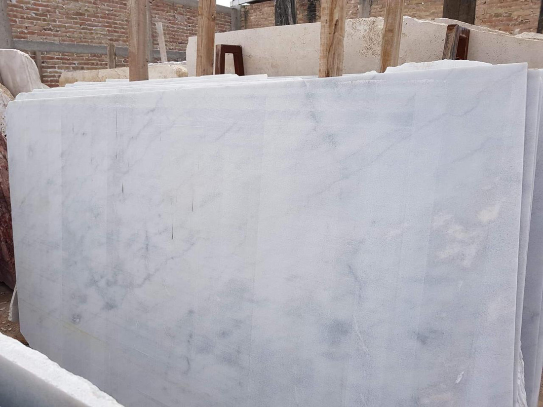 Blanco Nebula Marble Slabs White Marble Slabs from Spain