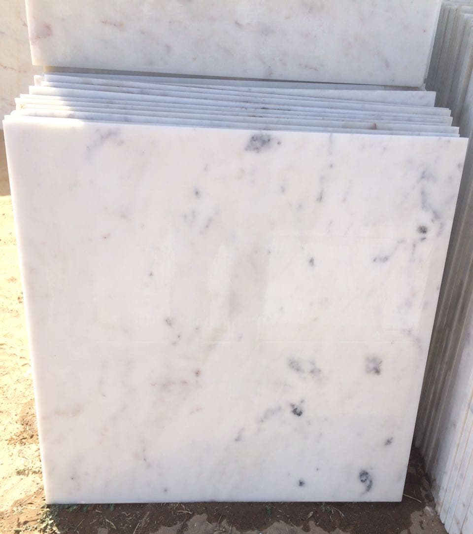 Bliss White Marble Tiles Polished White Marble Stone Tiles