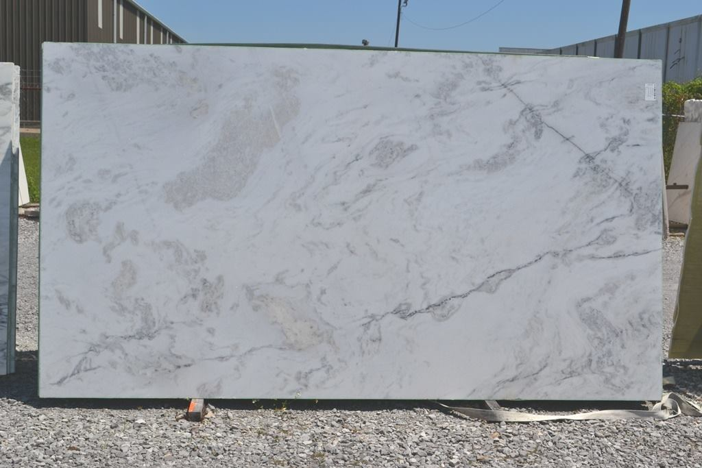 Blizzard Marble White Polished Marble Slabs