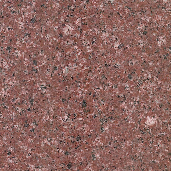 Blossoming Red Granite