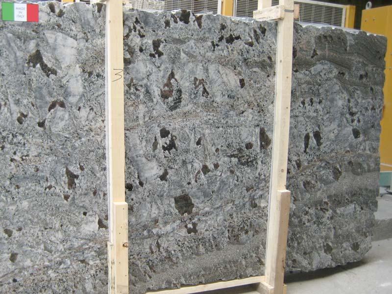 Blue Araras Granite Slabs Ash Blue Slabs