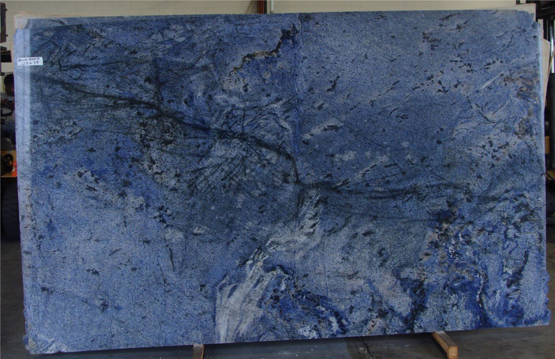 Blue Bahia Granite Polished Slabs from Brazil