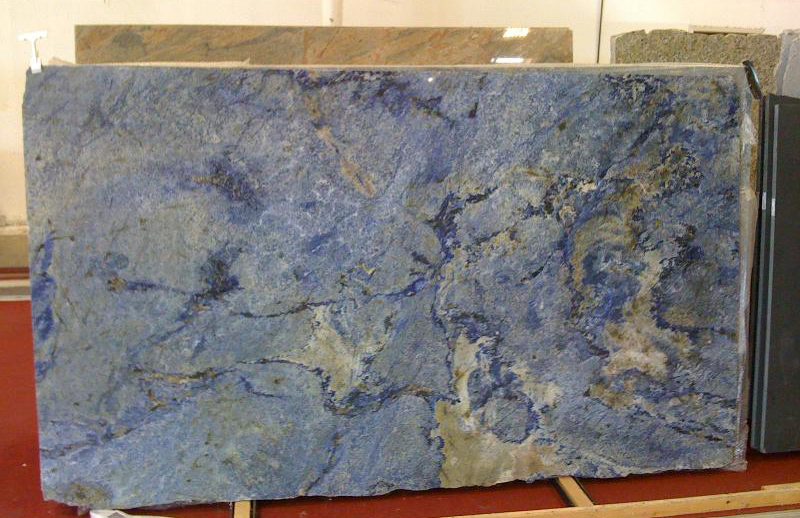 Blue Bahia Granite Slabs Polished Blue Granite Stone Slab