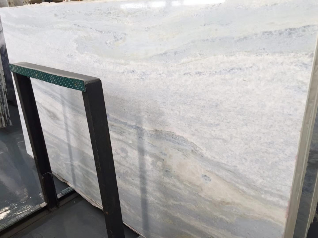 Blue Crystal Marble Slab Polished Marble Slabs