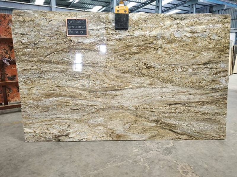 Blue Dunes Granite Polished Granite Slabs for Countertops