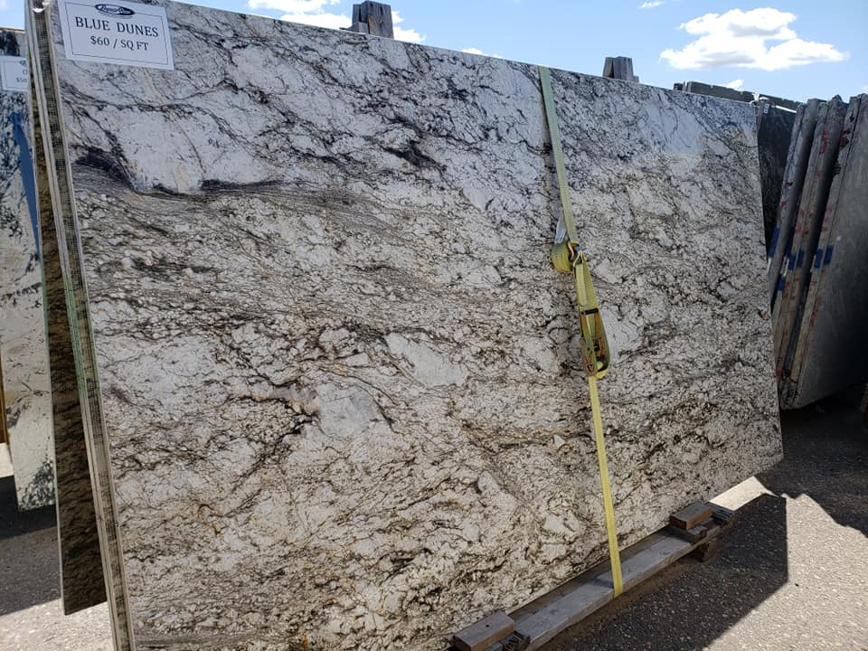 Blue Dunes Polished Granite Slabs with High Quality