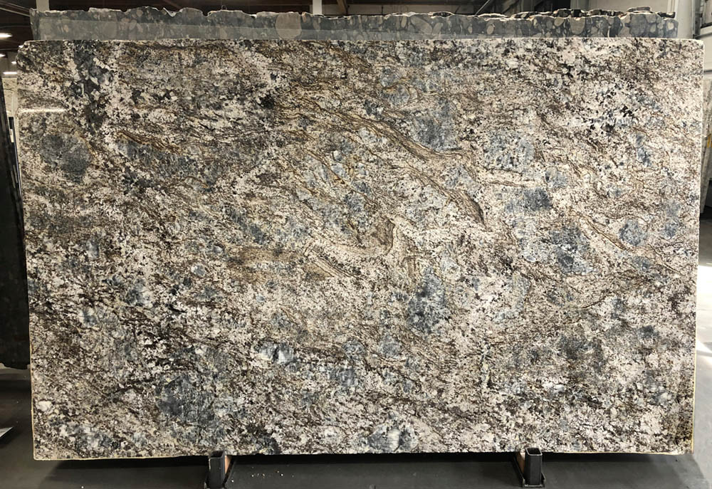Blue Flower 3cm Granite Stone Slabs Polished Brazil Granite Slabs