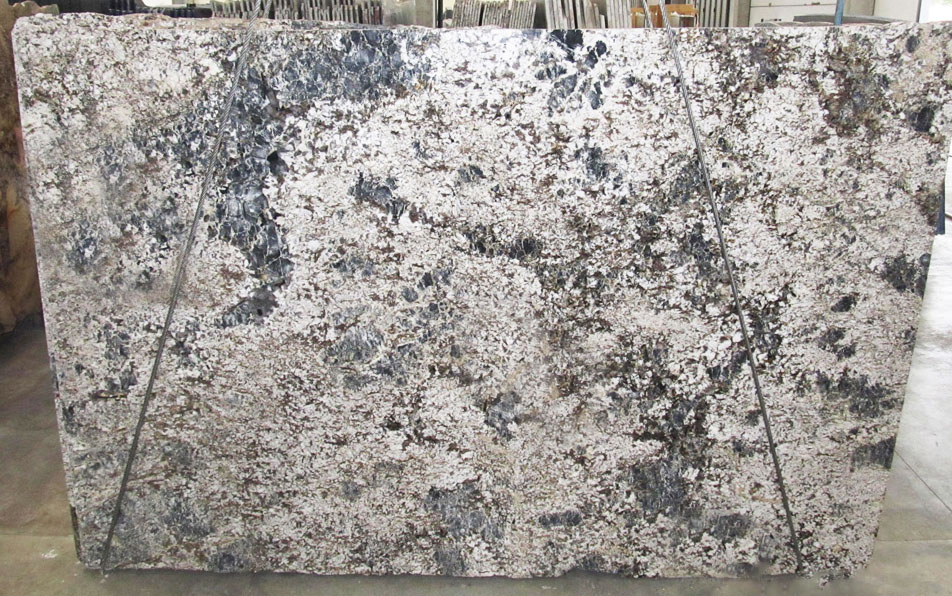 Blue Flowers Granite Slabs Polished Granite Slabs for Kitchen Countertops