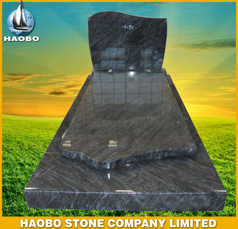 Blue Granite Monuments Belgian Style HBMBE004