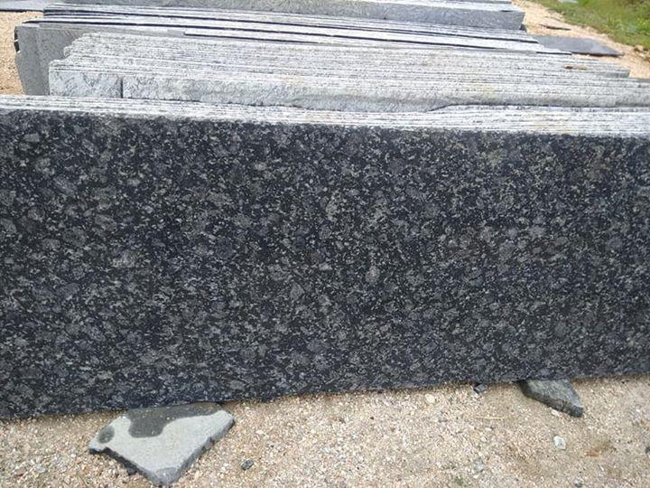 Blue Granite Slabs for Kitchen Countertops