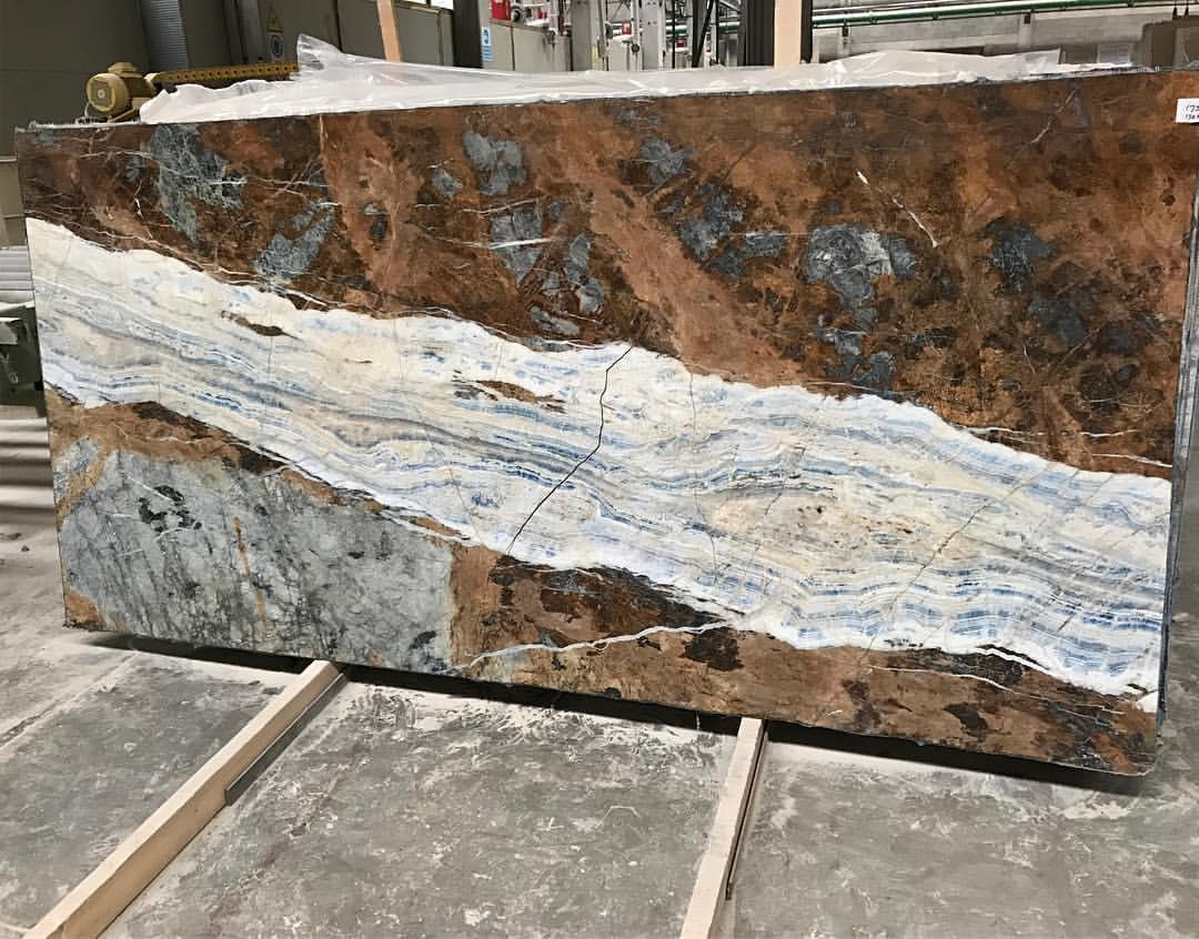 Blue Jeans Marble Slab Turkish Beautiful Marble Slabs