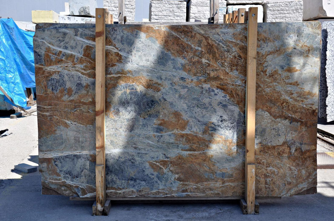 Blue Jeans Marble Slabs from Turkey Supplier