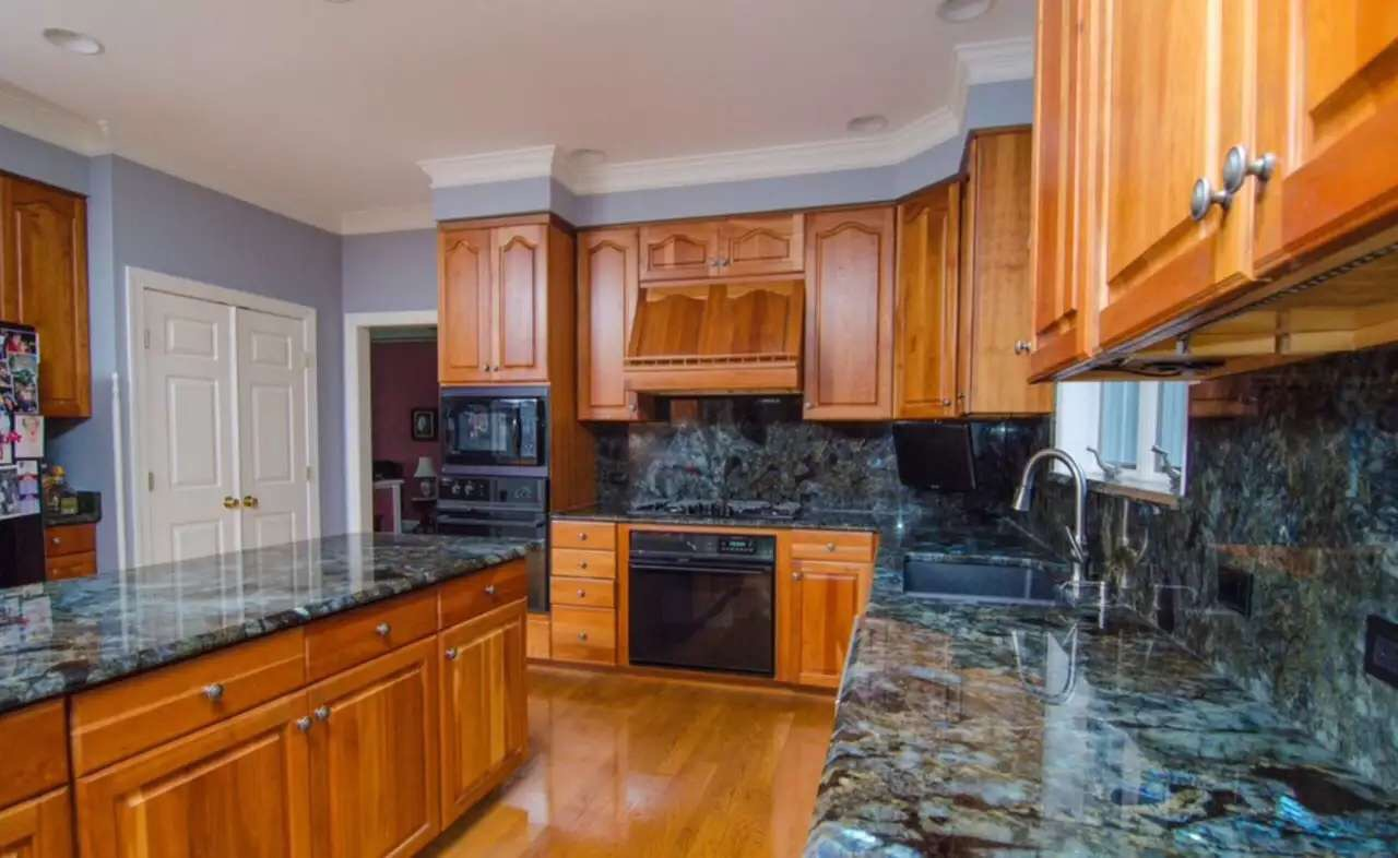 Blue Granite Kitchen Countertops Blue Granite Counter Tops For Kitchen