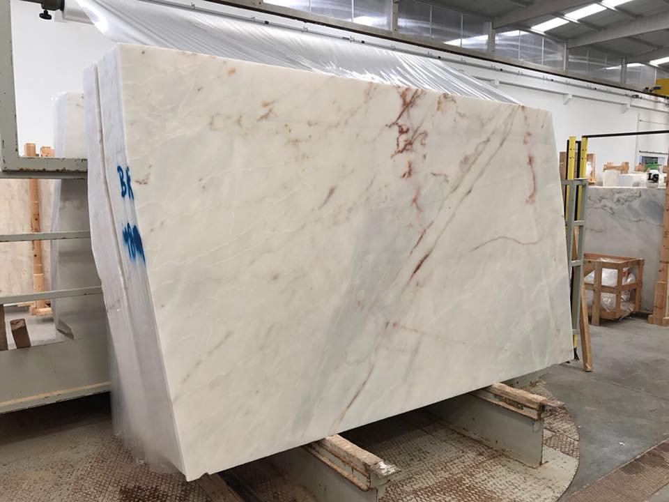 Blue Lake Marble Slabs from Portugal