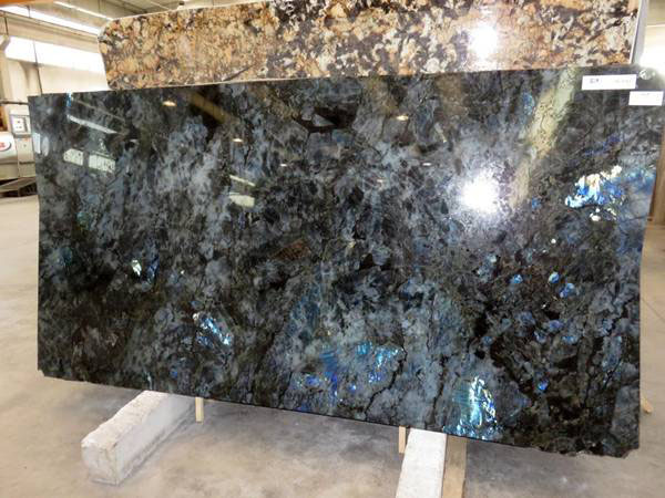 Blue Lemurian Labradorite Blue 3cm Dark Blue Granite Slabs