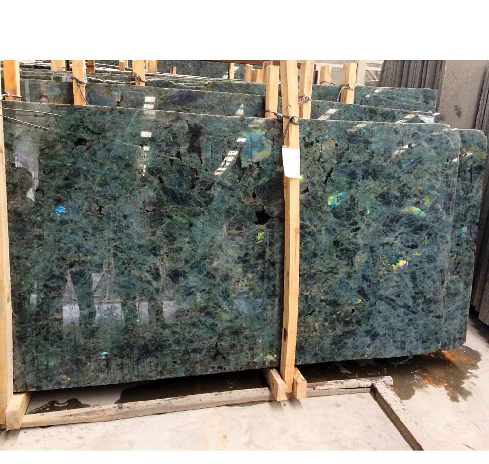 Blue Lemurian Labradorite Blue 3cm Light Blue Granite Slabs