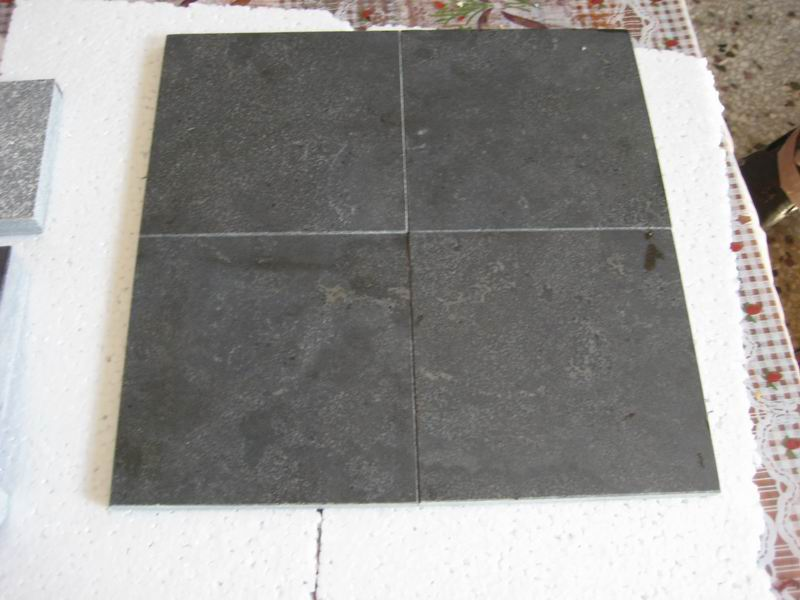 Blue Limestone Honed Limestone Flooring Tiles