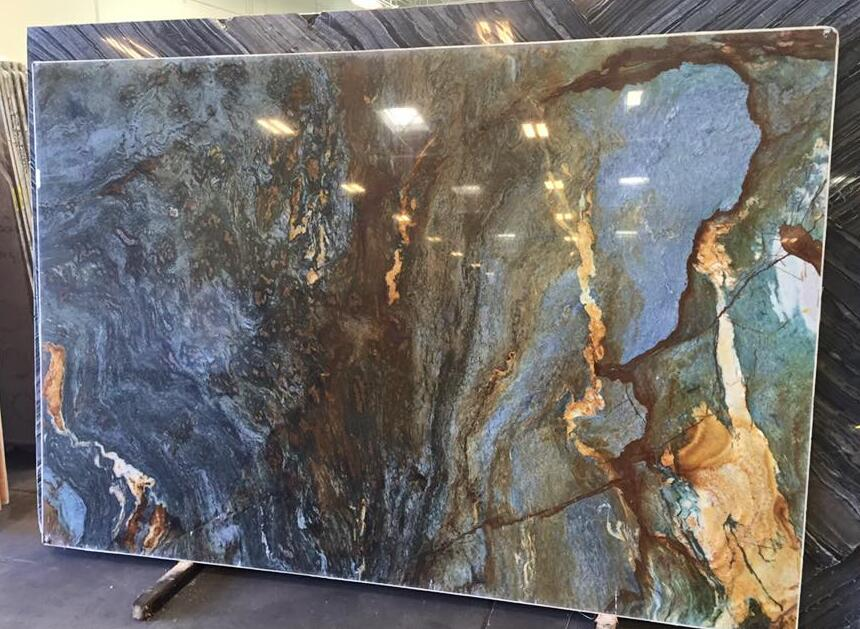 Blue Louise Quartzite Natural Polished Stone Slabs