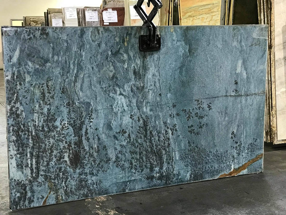 Blue Louise Quartzite Slabs Polished Natural Stone Slabs
