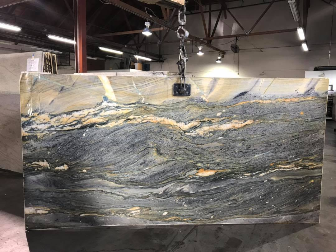 Blue Marin Quartzite Slab Polished Quartzite Slabs