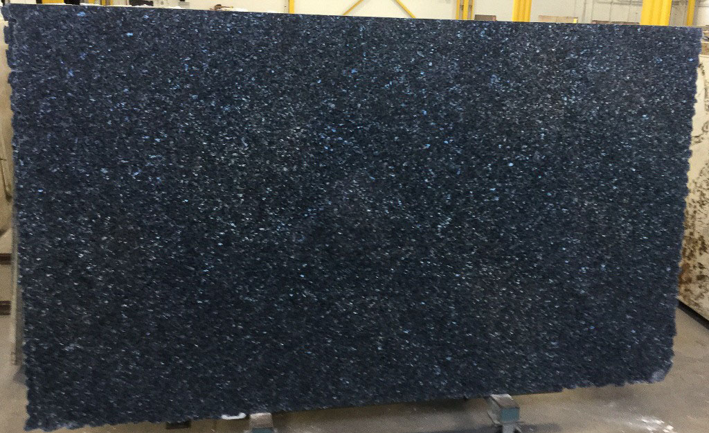 Blue Pearl 3cm Polished Nowary Polished Granite Stone Slabs
