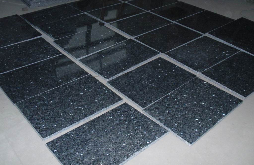Blue Pearl Granite Floor Tiles Flooring Granite Stone Tiles