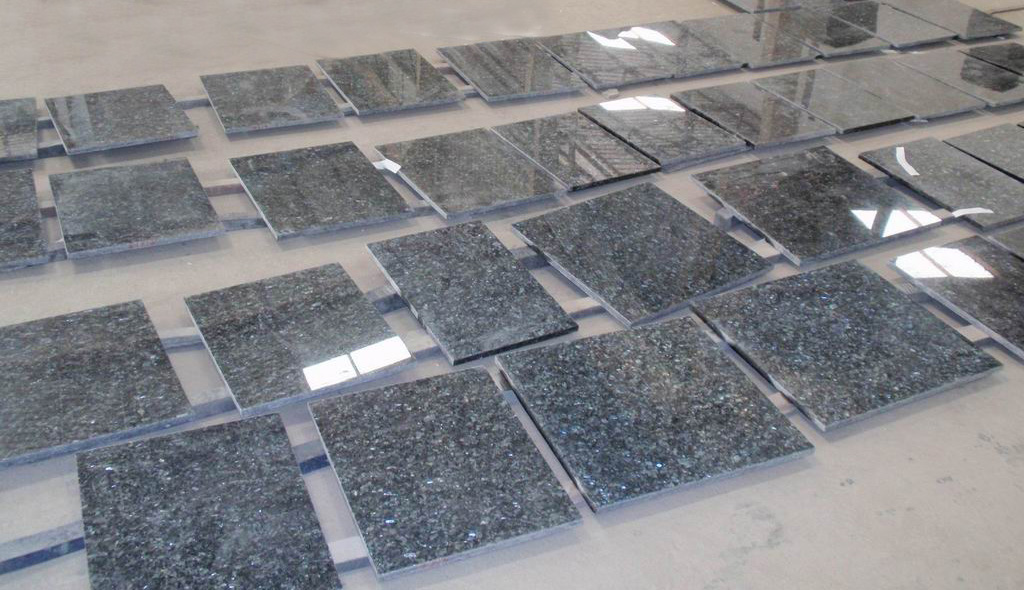 Blue Pearl Granite Tile Polished Blue Granite Flooring Tiles