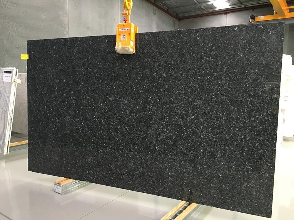 Blue Pearl Slab Blue Granite Stone Polished Slabs for Countertops