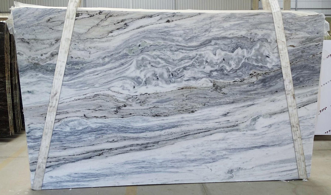 Blue Portinary Marble Polished Big Marble Slabs