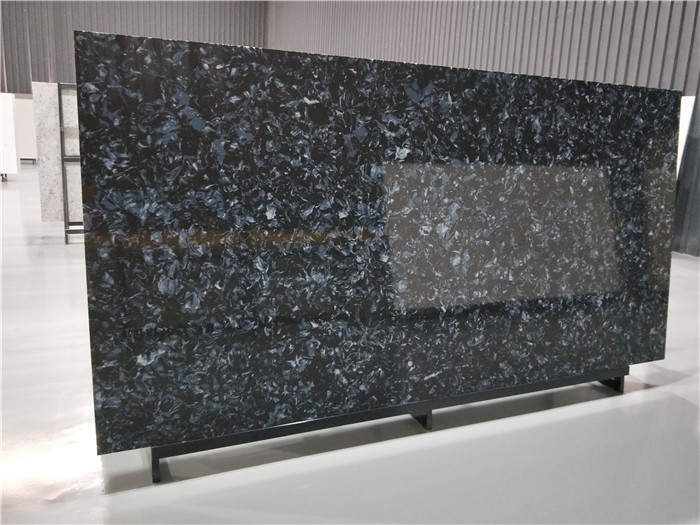 Blue Quartz Slab