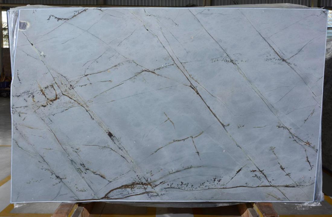 Blue Roma Quartzite Slab Brazilian Antiqued Quartzite Slabs