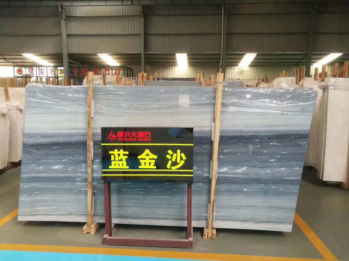 Blue Sands Marble Marble Slabs Tiles from China