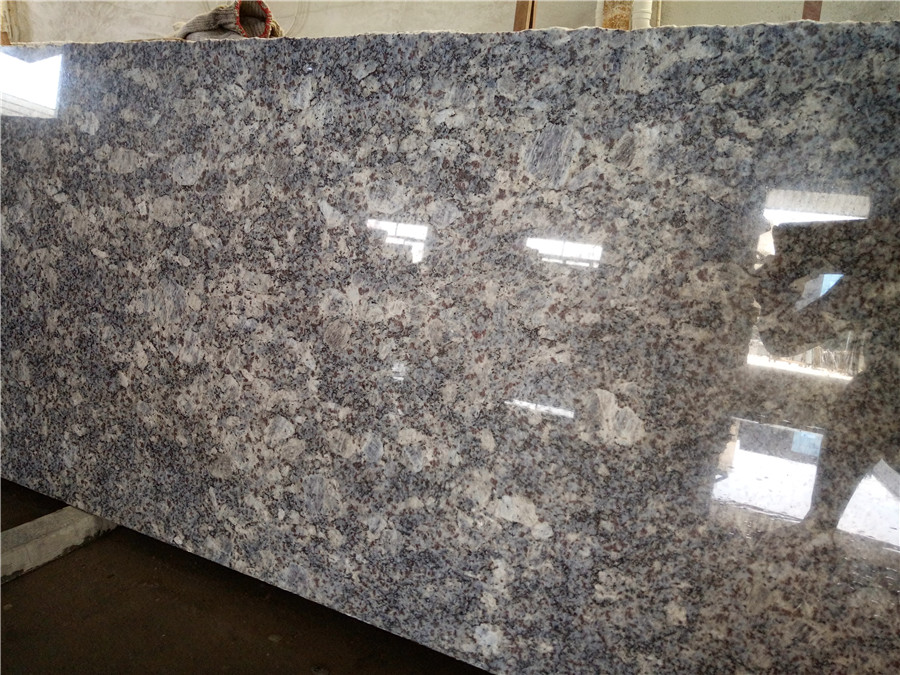 Blue Sky White Cloud Granite Polished Big Natural Stone Slabs
