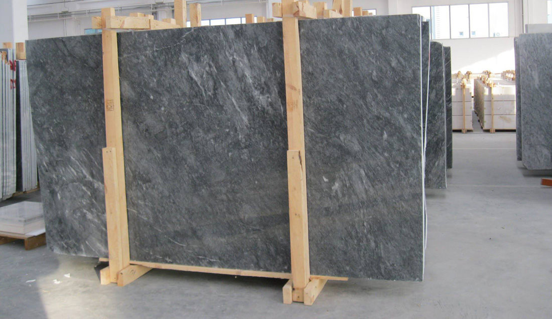 Blue Stone Slabs Polished Marble Slabs