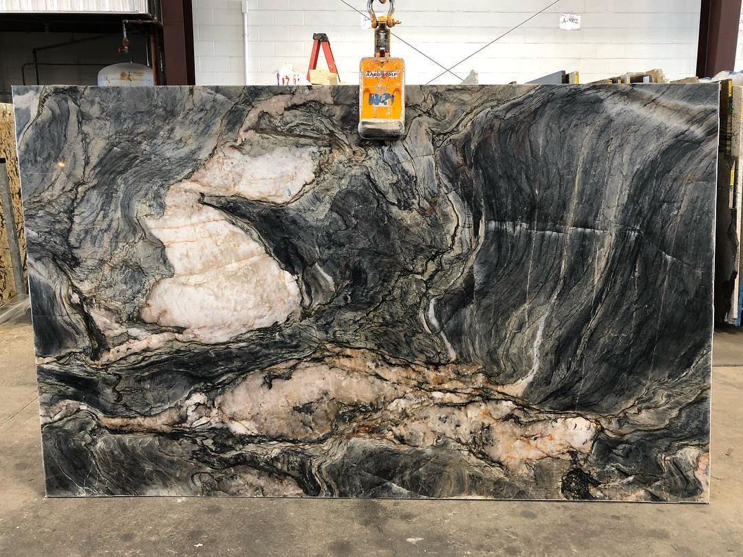 Blue Tempest Quartzite Slabs Blue Quartzite Slabs