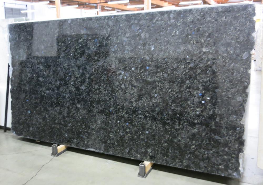 Blue Volga Granite Slabs Blue Polished Granite Slabs with Top Quality