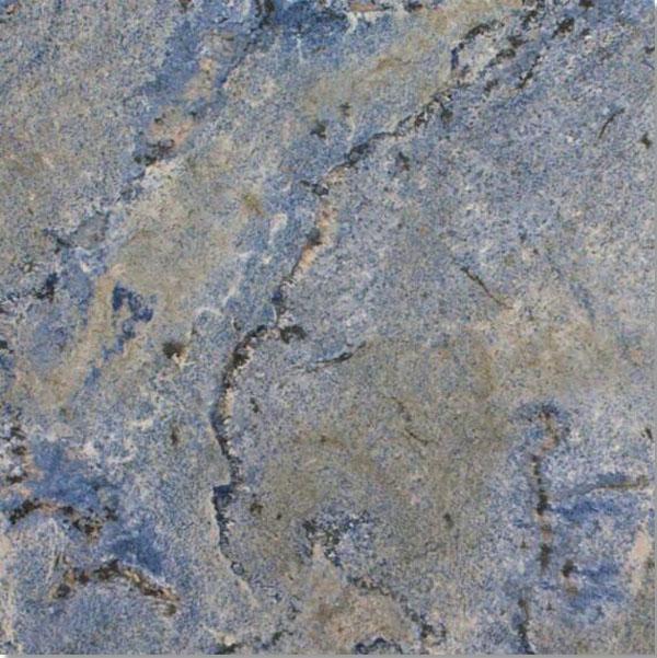 Blue Bahia granite from Brazil