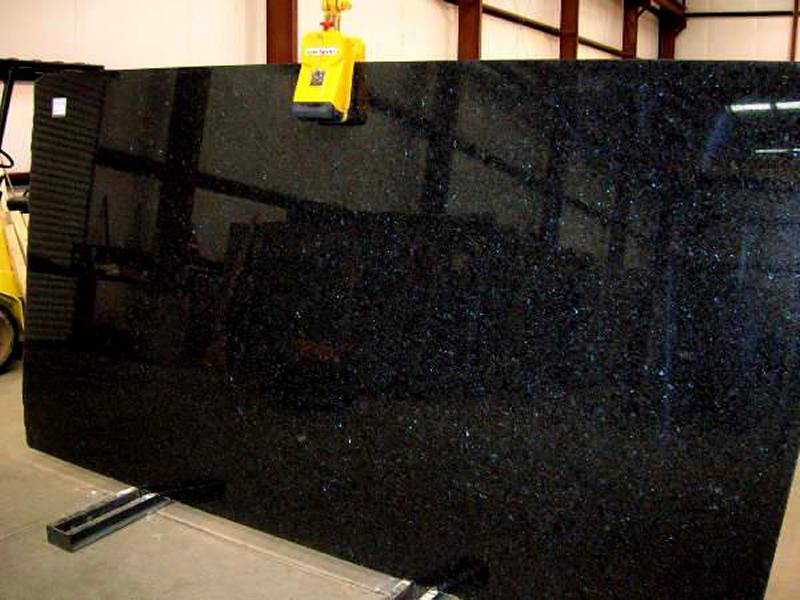 Blues in the Night Granite Polished Slab Angola Granite Slabs