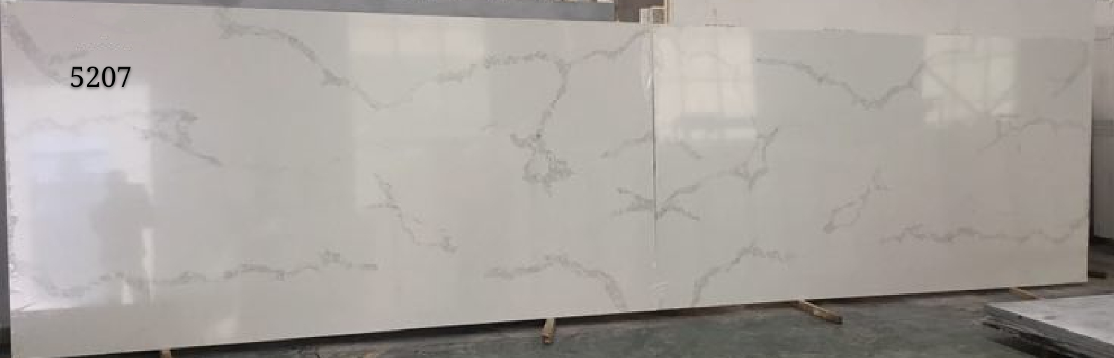 Calacatta Quartz Stone Slab Bookmatch