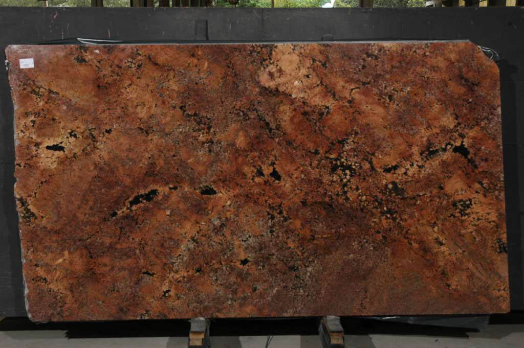 Bordeaux Red Granite Slabs