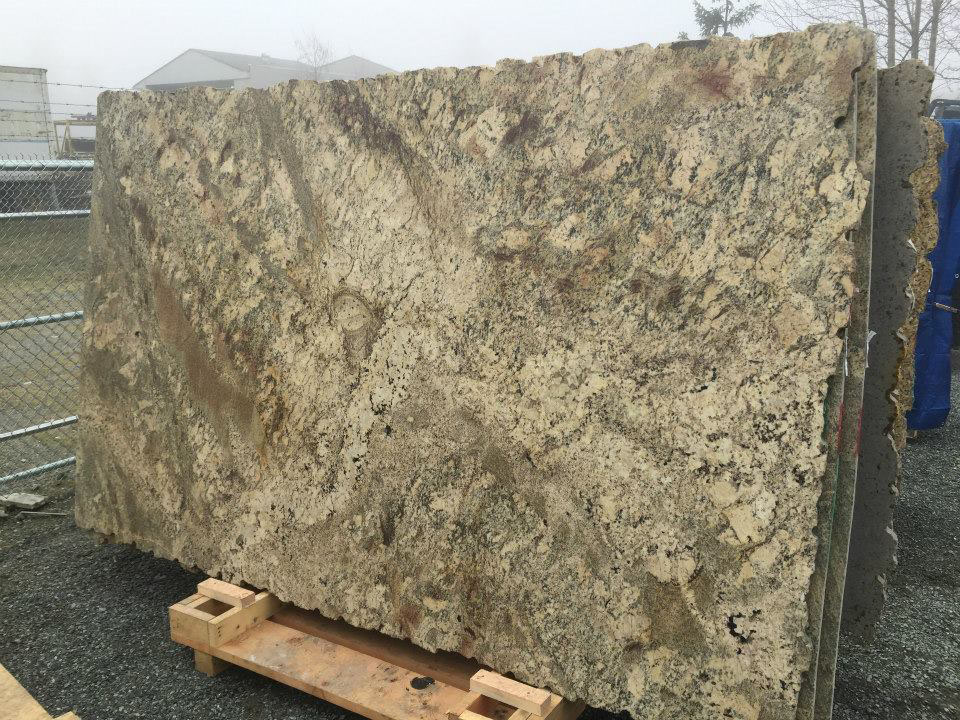 Bordeaux River Granite Slabs Beige Granite Slabs