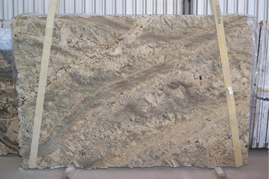 Bordeaux River Granite Slabs Brazilian Beige Granite Slabs