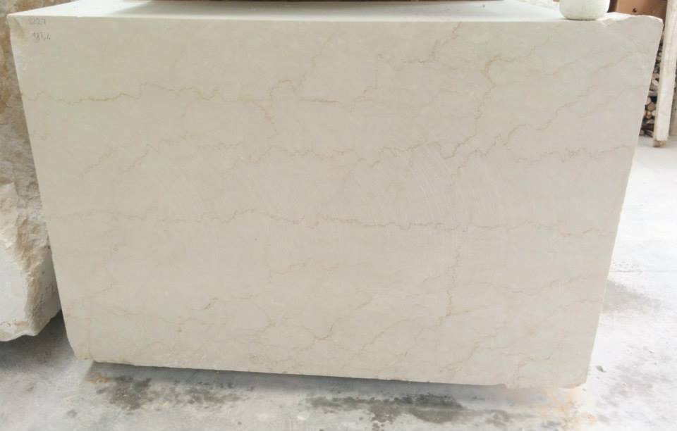 Botticino Classico Natural Marble Stone Blocks