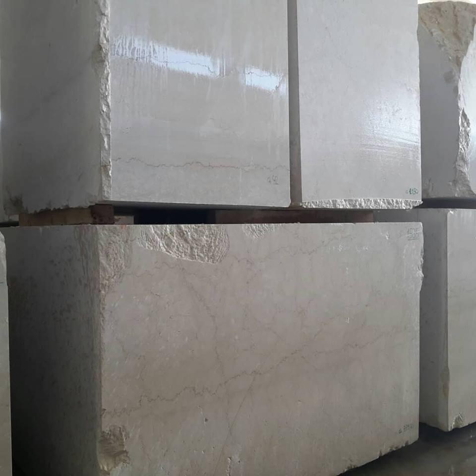 Botticino Italian Beige Marble Natural Stone Blocks