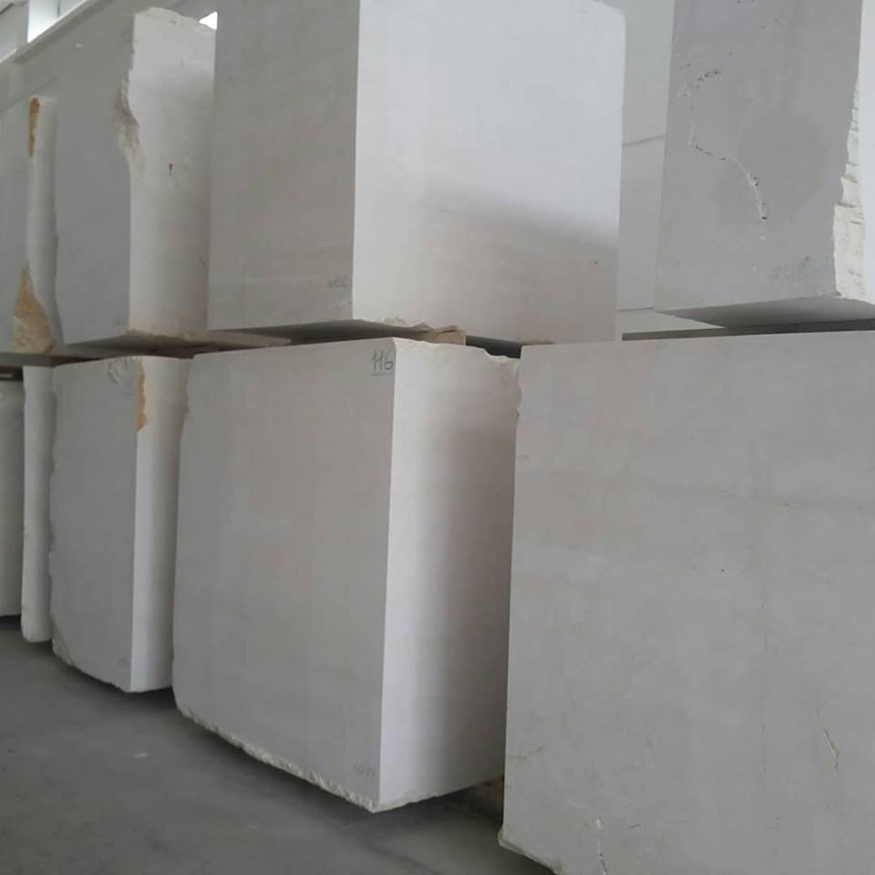 Botticino Italian Natural Marble Blocks