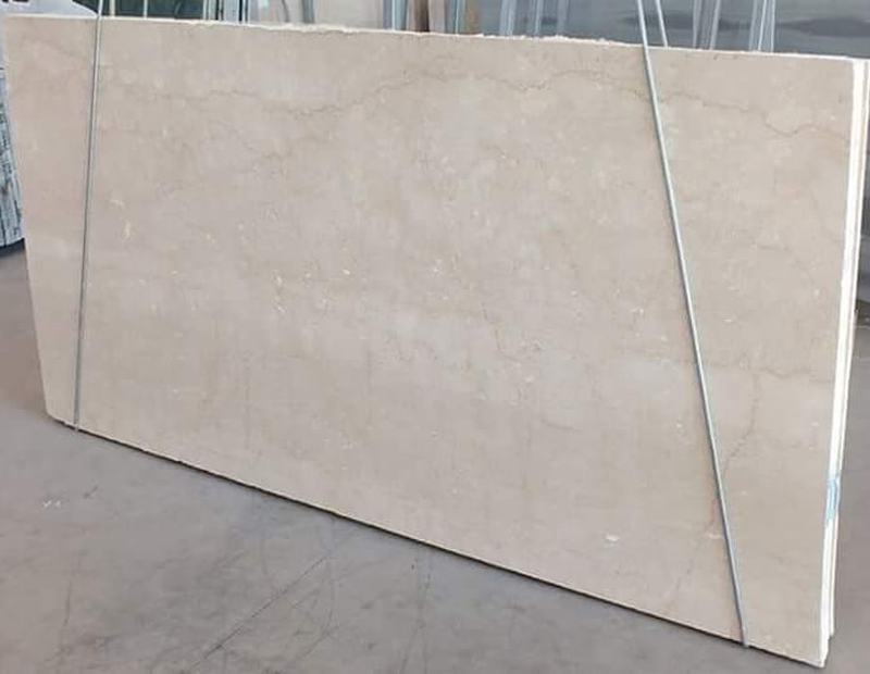 Botticino Semiclasico Cream Marble Polished Slab from Italy