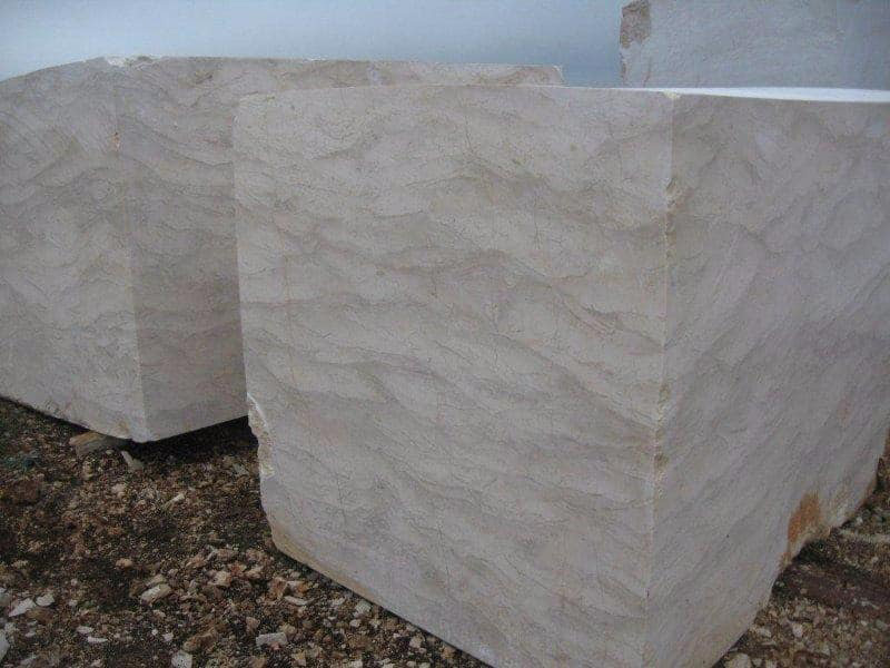 Bottocino Beige Blocks Natural Marble Blocks from Turkey